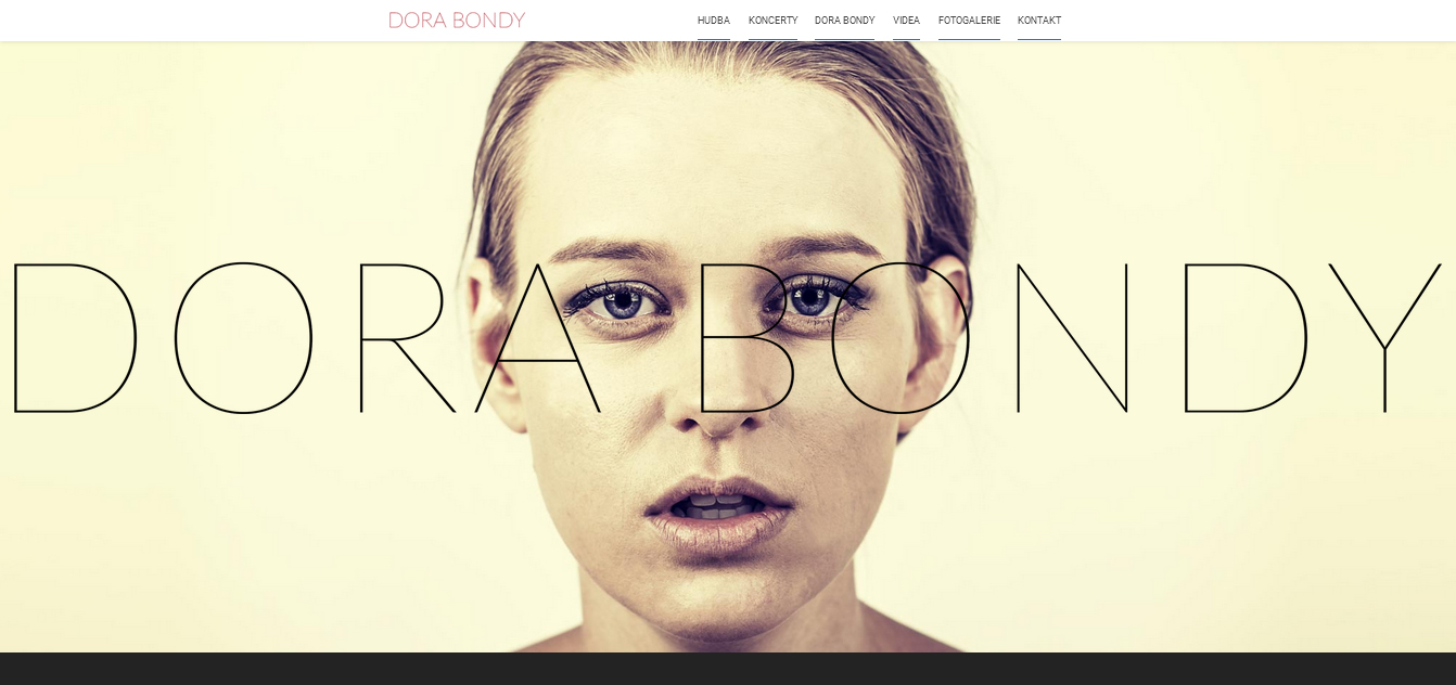 screenshot_website Dora Bondy