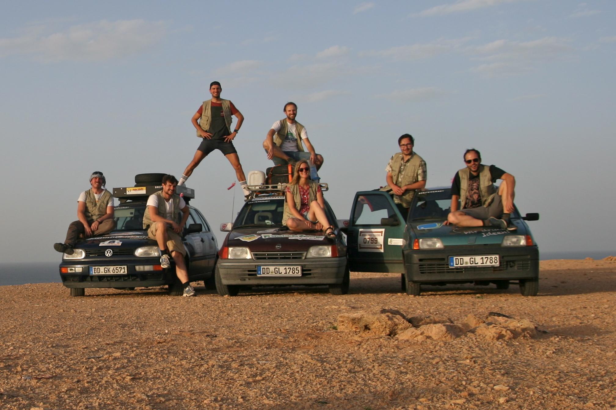 Rallye Dresden-Dakar-Banjul - Martin Sicker und Freunde