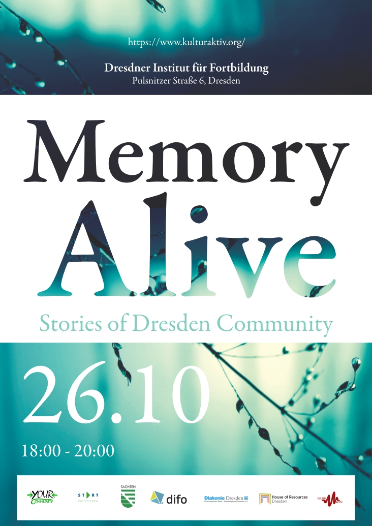 Workshop - Memory Alive