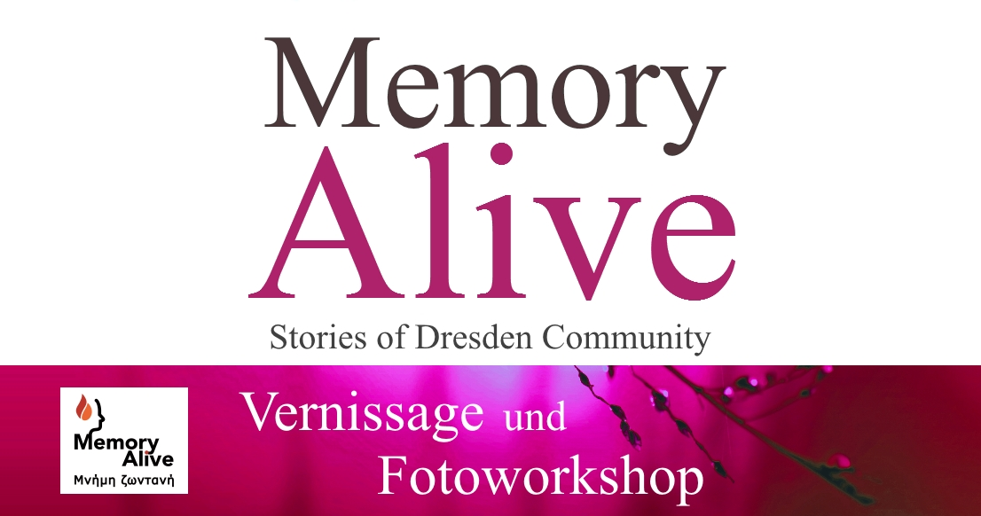 Vernissage 'Memory Alive' + Fotoworkshop Advent