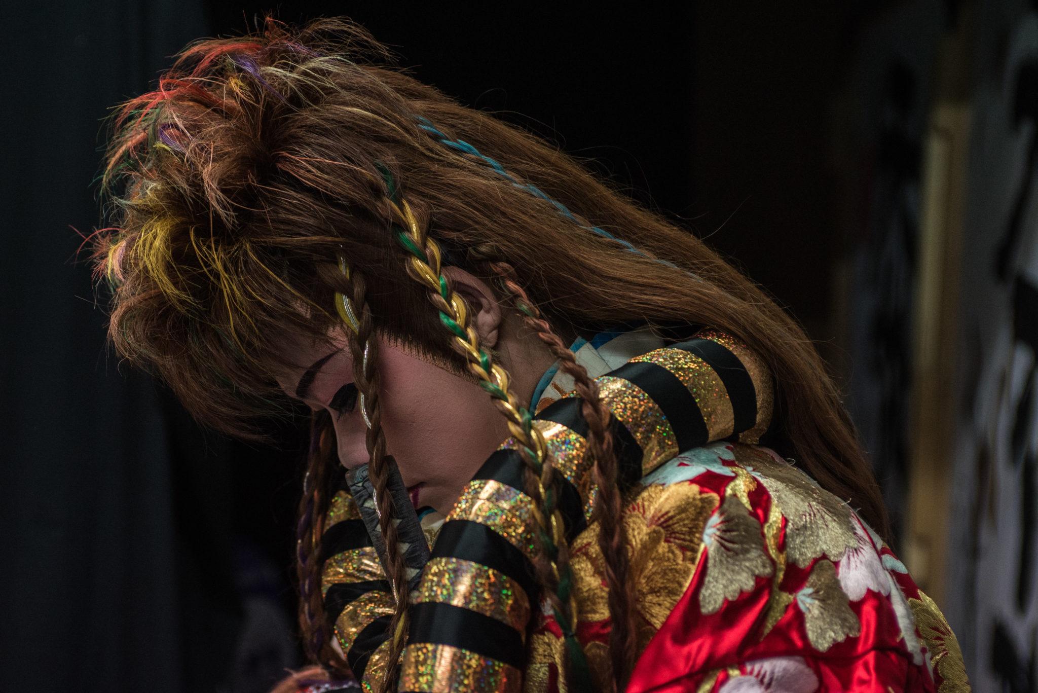 """Performance Neo-Kabuki-Theater """"Manjushaka"""""""