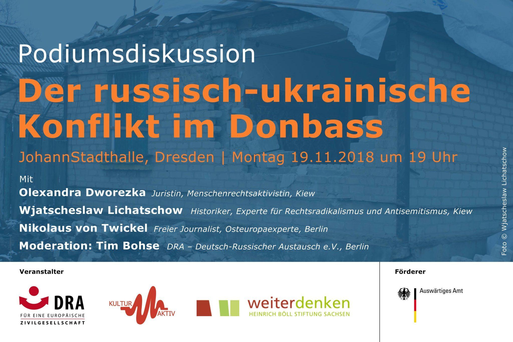 Der russisch-ukrainische Konflikt im Donbass