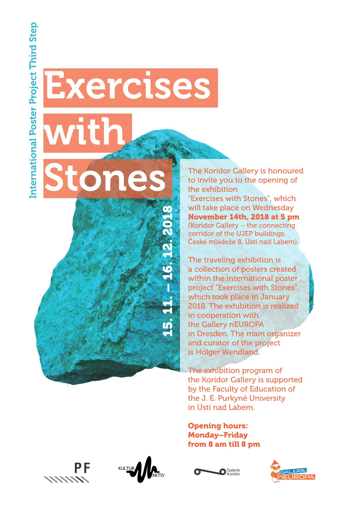 Exercises with Stones - Koridor Gallery
