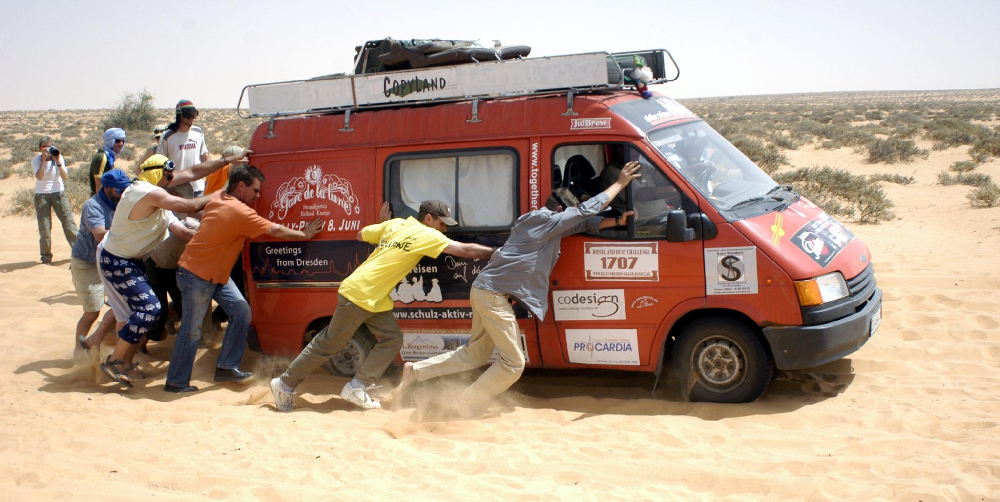 Rallye Dresden Dakar Banjul