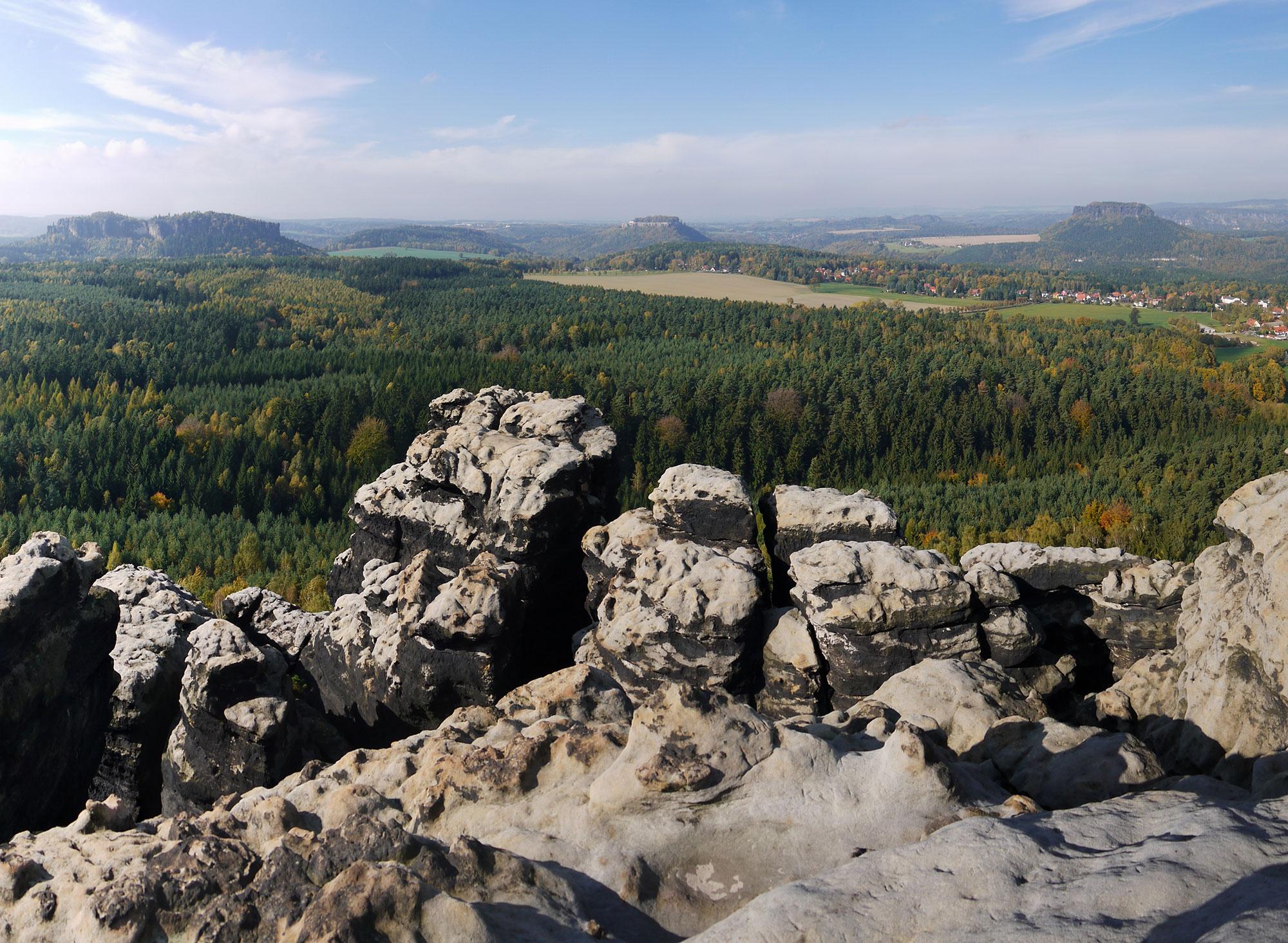Wanderung - Forststeig (Sächsische Schweiz)
