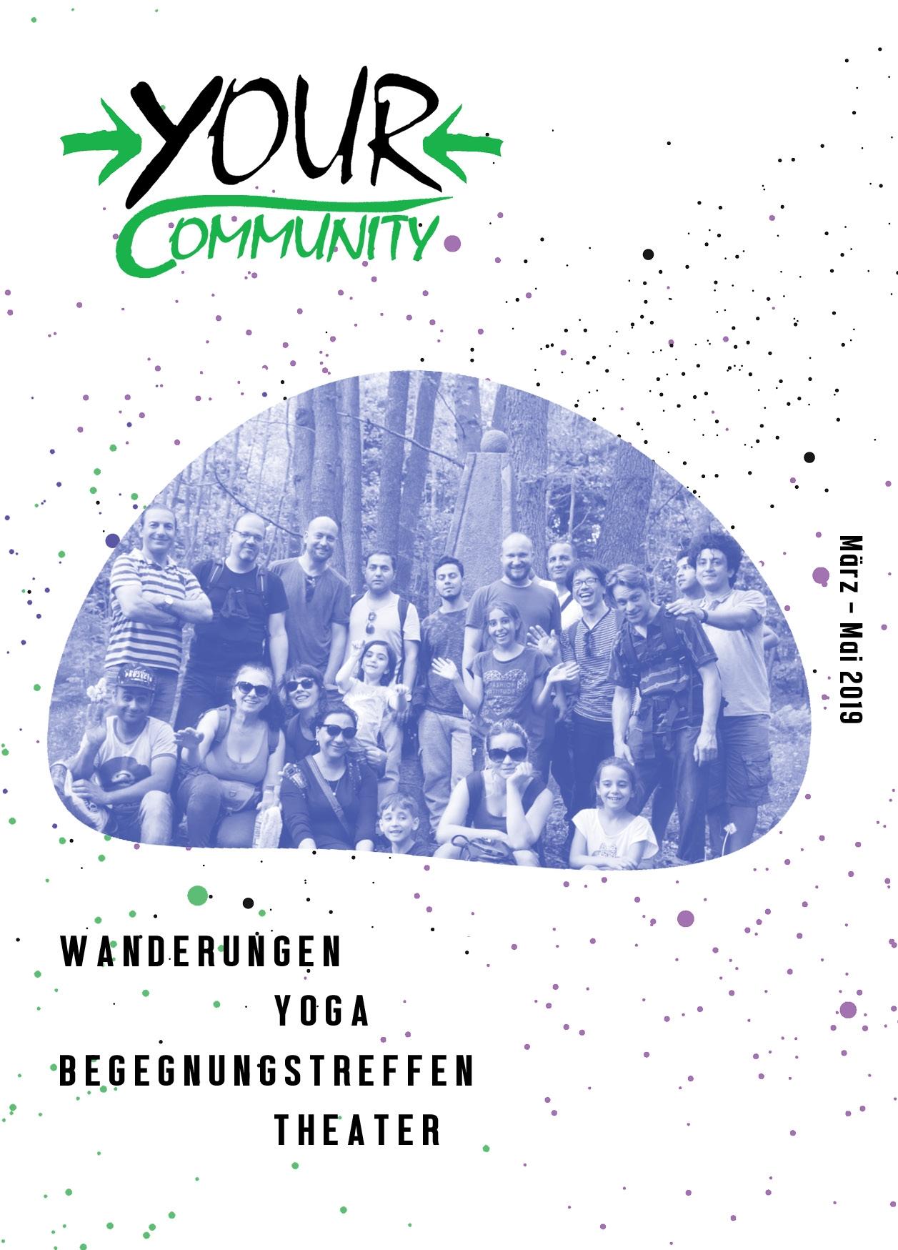 yOUR Community_Faltblatt_cover