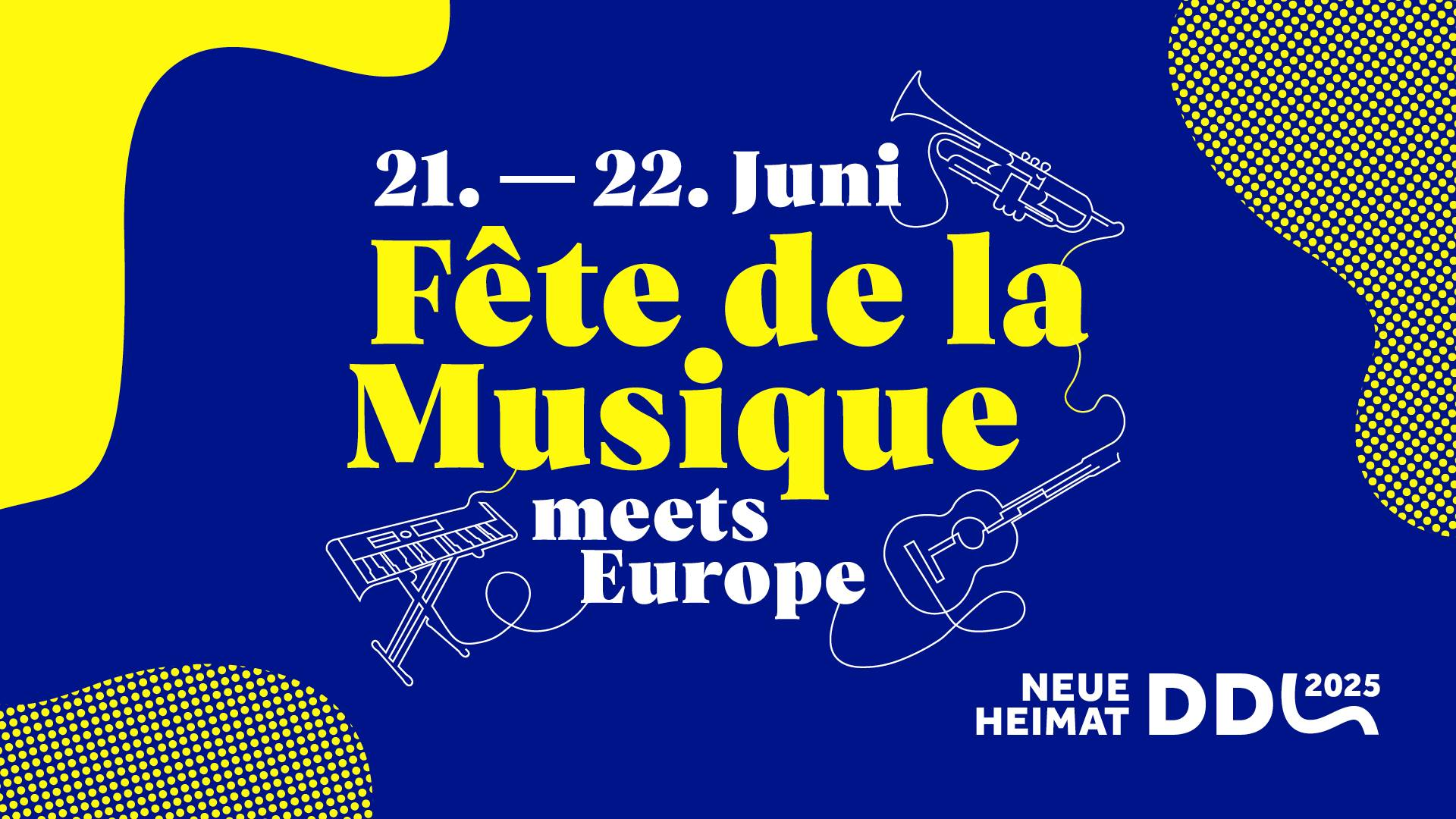 Fête de la musique meets Europe – Open Air 2019
