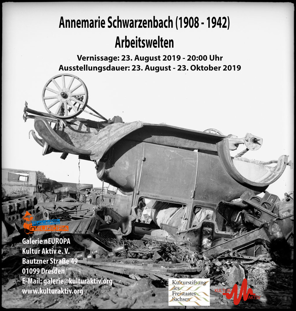 Annemarie Schwarzenbach - Arbeitswelten