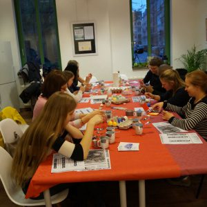 yOUR Community - Begegnung 04/19 - Kreativ-Workshop - Sorbische Ostereier © M. Gottwald