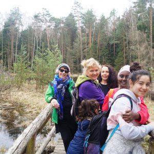 yOUR Community - Wanderung 03/19 - Dresdner Heide © M. Gottwald