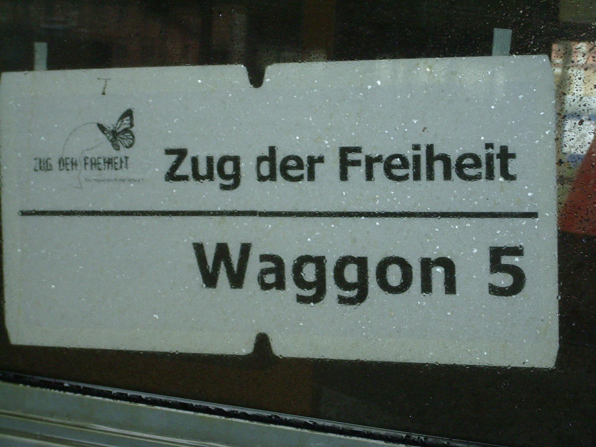 Zug der Freiheit Waggon 5