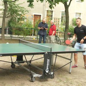 yOUR Community - Begegnung 07/19 - Tischtennis & Kubb © S. Zhivkovska