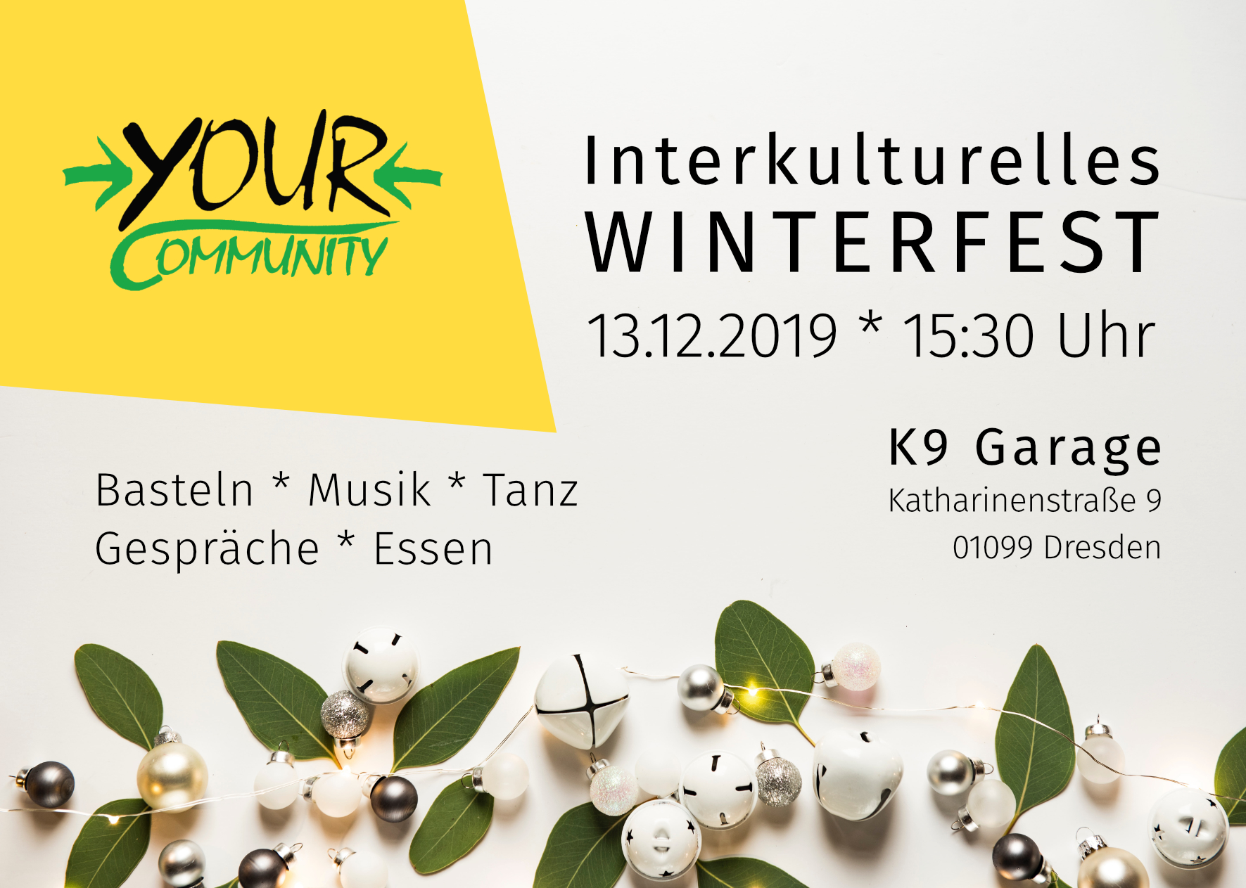 Meeting - Intercultural Winter Festival