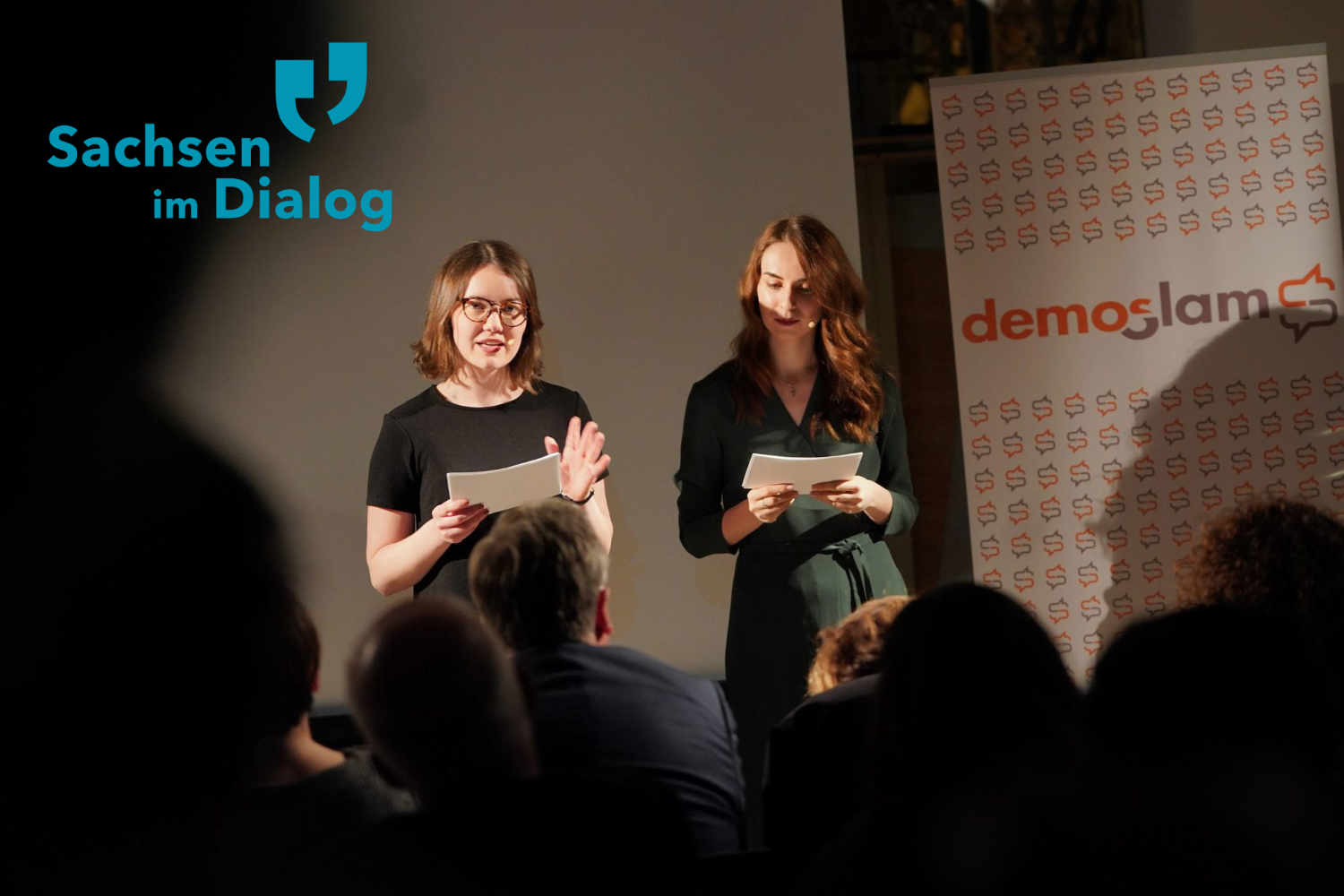 demoSlam: The Slam for Young Dispute Culture in Saxony